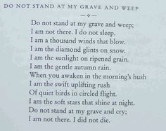 I read this at my great grandfathers funeral 4 years ago. I miss him so much