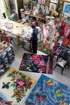 Nathalie Lete Studio~Image courtesy Van Belkom Producties