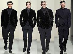 The Clothes Whisperer: the fashion blog with wit that sparkles: Man Whispers: Bottega Veneta Mens Fall 2011 Runway, Milan Menswear Fashion Week