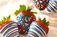 Easy Floral & Food 4th of July Decorations