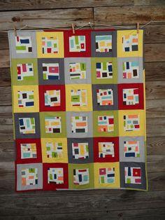 modern quilts   Blueberry Patch: Kona Modern Quilts Baby Modern