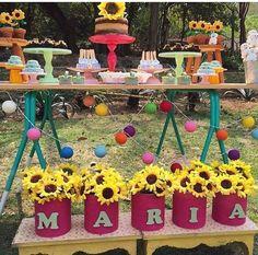 Foto do insta encontrandoideias - festa picnic