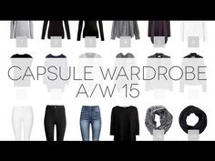 Capsule Wardrobe A/W 15