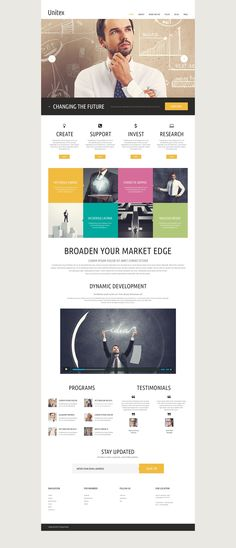 Website Template , Global Business