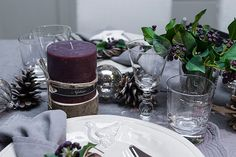 Bring the outside in this winter with pine cones and holly - the seasonal foliage will create a cosy feel that will warm the cockles of your hearts! #designtip #neptune www.neptune.com