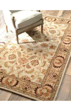 Bring Style And Elegance Into Your Room Setting With This Rug Is Handmade 100 Percent Wool Features A Durable Plush Pile Suitable For