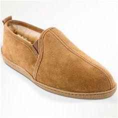 Men's Minnetonka Twin Gore Sheepskin Slippers