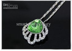 Romantic Austrian Crystal Shell Pendant Necklace Fashion Necklace Pendant Necklaces | Buy Wholesale On Line Direct from China