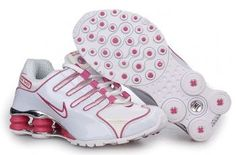 Women's Nike Shox NZ Plating White Red Shoes