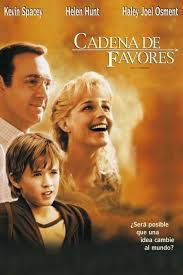Pay it Forward: A young boy attempts to make the world a better place after his teacher gives him that chance. Director: Mimi Leder Writers: Catherine Ryan Hyde (book), Leslie Dixon (screenplay) Stars: Kevin Spacey, Haley Joel Osment and Helen Hunt Kevin Spacey, Helen Hunt, Film Music Books, Music Tv, Movies Showing, Movies And Tv Shows, Film Marathon, Peliculas Audio Latino Online, Films Western