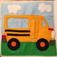 Quiet book: The Wheels on the Bus/Pigeon
