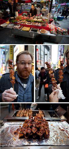 Article on Korean Street Food- This was one of my favorite things in Korea. Best street food around!!!