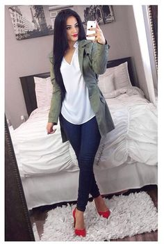 Pinned onto 2018 winter outfits Board in 2018 winter outfits Category Casual Work Outfits, Work Attire, New Outfits, Cute Outfits, Fashion Outfits, Womens Fashion, Casual Attire, Fall Winter Outfits, Spring Outfits