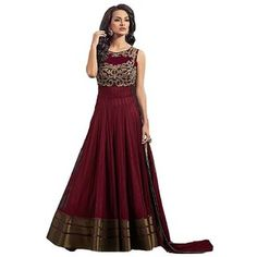 Buy latest Anarkali salwar kameez from our different range of Salwar suits online. Mirraw offers best discounts and deals on shopping for Indian Anarkali Dresses. Indian Dresses, Indian Outfits, Western Dresses, Sumo, Net Gowns, Best Designer Dresses, Designer Wear, Ethnic Gown, Indian Ethnic