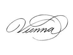 Vienna lettering by by Svetlana Postikova Lettering Styles, Types Of Lettering, Lettering Design, Logo Design, Type Design, Web Design, Typography Alphabet, Typography Quotes, Typography Inspiration