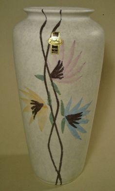 Jasba Vase 127/29 50er 60er Jahre Form + Farbe 50s german pottery WGP  | eBay