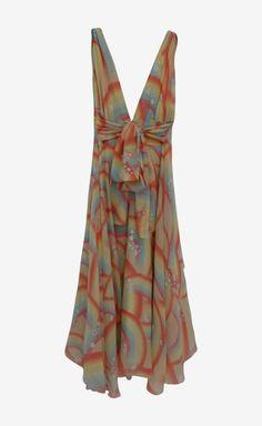 Matthew Williamson Yellow, Orange And Multicolor Dress