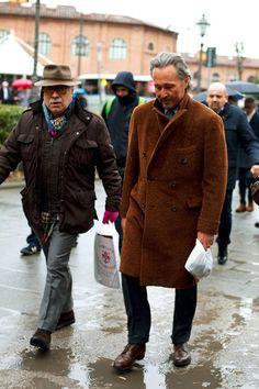 On the Street….Camel Coat Alternative, Florence « The Sartorialist