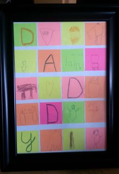 Post-It Father's Day Gift