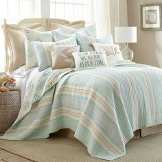 product image for Levtex Home Emerald Reversible Quilt Set