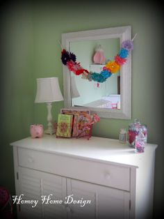 homey home design: McKinley's Room {Tales of a little girls space}