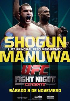 UFC Fight Night 56: Shogun vs. St. Preux