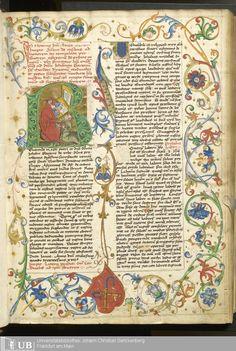7 [1r] - Ms. Praed. 3 - Summa de casibus conscientiae (L. I-V) - Page - Mittelalterliche Handschriften - Digitale Sammlungen
