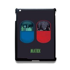 The Matrix Pil Blue And Red TATUM-10919 Apple Phonecase Cover For Ipad 2/3/4, Ipad Mini 2/3/4, Ipad Air, Ipad Air 2