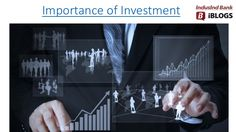 There are many  #importanceofInvestment,It provides returns and helps you grow your money, which will help you fulfil your financial goals in return.