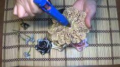 галстук брошь из репсовых лент Видео! - www.fassen.net-Видео сёрфинг