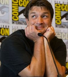 """Nathan Fillion. Say it with me now, """"Awwwww!"""""""