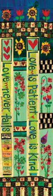 Láska je trpělivá / Corinthians 13 6 'Peace Pole z Path Design, Garden Design, Garden Poles, Atrium Garden, Peace Pole, Fairy Garden Furniture, Path Ideas, Peace Art, Art Folder