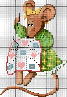 Gallery.ru / Фото #1 - mouse quilting