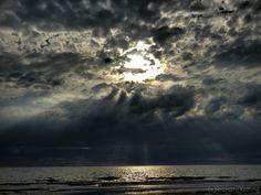 Glowing Clouds Beach