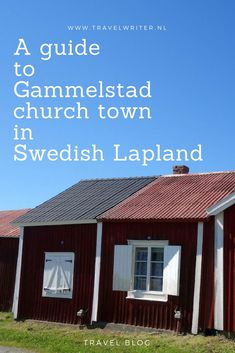 We spent some time exploring the Gammelstad church town in Swedish Lapland. We peeked inside the red timber cabins scattered around the town. Europe Destinations, Europe Travel Guide, Backpacking Europe, Travelling Europe, Travel Guides, Sweden Travel, Spain Travel, Stockholm, Ukraine