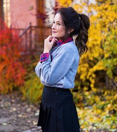 Image de autumn, beautiful, and beauty Emma Verde, Olivia Rose, Tennis Skirts, Fall Photos, Youtubers, Poses, Autumn, Celebrities, Outfits