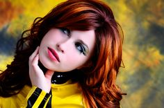 Secret to a great red hair color is multi-demesional shades of reds and spicy red browns.