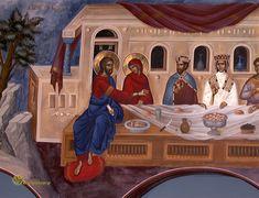 The Wedding at Cana Detroit Usa, Life Of Christ, Biblical Art, Byzantine Art, God Loves Me, Orthodox Icons, Christian Faith, Catholic, Gallery