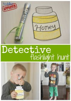 Toddler Approved!: 2 Detective Activities inspired by The Berenstain Bears and the Missing Honey...love this idea using letters