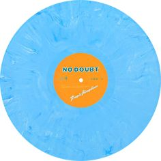 Tragic Kingdom, Album by No Doubt. Newbury Comics exclusive. Limited edition of 500 on blue & white marble vinyl. Collection of unusual, rare vinyl and unique colored collectible records.