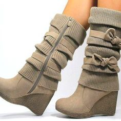 These boots are so cute!