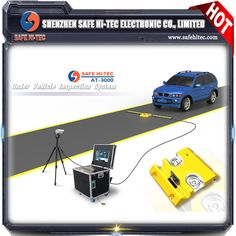 https://youtu.be/lhwIltg4RZI #UVSS/UVIS mobile under vehicle inspection system# Vehicle undercarriage explosive inspection system