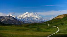 Highest Peak in Northern America Mount McKinley  #landscape #peak #northern #america #mount #mckinley #photography
