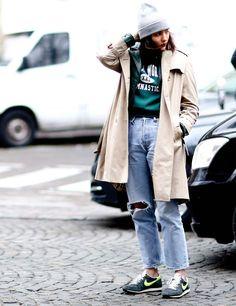 Best street style looks spotted at Paris Fashion Week Autumn / Winter 2013 | ELLE UK