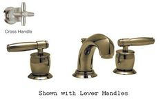 Rohl MB1929XM-2 Widespread Zephyr Spout Lavatory Faucet with Pop-Up Waste