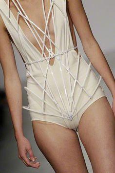 futuristic spin #bodysuit