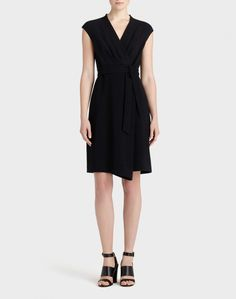 de707f33ab Finesse Crepe Grayson Dress  lbd Perfect Little Black Dress