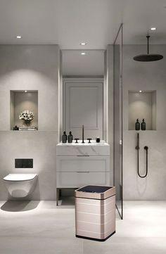 64 Adorable Bathroom Tile Design Ideas And Decor bathroom tile ideas, bathroom decoration, moder bathroom design, small bathroom ideas