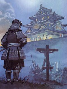 """The siege of Nagashino Castle, 1575"", Angus McBride"