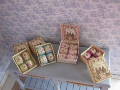 Sewing KIT, dollhouse miniature, scale 1:12 by WyrnasMiniatureB on Etsy